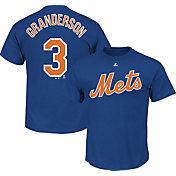 Majestic Men's New York Mets Curtis Granderson #3 Royal T-Shirt