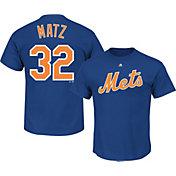 Majestic Men's New York Mets Steven Matz #32 Royal T-Shirt