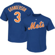 Majestic Triple Peak Men's New York Mets Curtis Granderson Royal T-Shirt