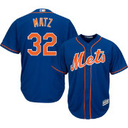 Majestic Men's Replica New York Mets Steven Matz #32 Cool Base Alternate Home Royal Jersey