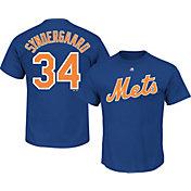 Majestic Men's New York Mets Noah Syndergaard #34 Royal T-Shirt