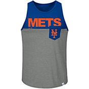 Majestic Men's New York Mets Throw The Towel Royal Tank Top