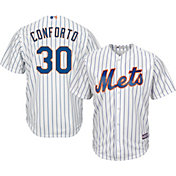 Majestic Men's Replica New York Mets Michael Conforto #30 Cool Base Home White Jersey