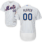 Majestic Men's Full Roster Authentic New York Mets Flex Base Home White On-Field Jersey