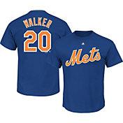 Majestic Men's New York Mets Neil Walker #20 Royal T-Shirt