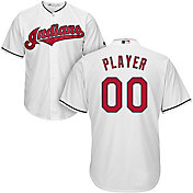 Majestic Men's Full Roster Cool Base Replica Cleveland Indians Home White Jersey