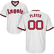 Majestic Men's Full Roster Cool Base Cooperstown Replica California Angels White Jersey
