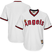 Majestic Men's Replica California Angels Cool Base White Cooperstown Jersey