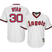 Majestic Men's Replica California Angels Nolan Ryan Cool Base White Cooperstown Jersey