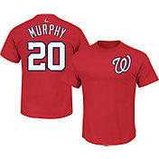 Majestic Men's Washington Nationals Daniel Murphy #20 Red T-Shirt