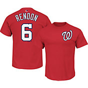 Majestic Men's Washington Nationals Anthony Rendon #6 Red T-Shirt