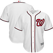 Majestic Men's Replica Washington Nationals Cool Base Home White Jersey