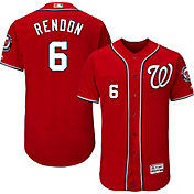 Majestic Men's Authentic Washington Nationals Anthony Rendon #6 Alternate Red Flex Base On-Field Jersey