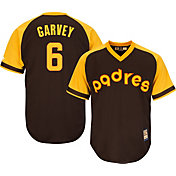 Majestic Men's Replica San Diego Padres Steve Garvey Cool Base Brown Cooperstown Jersey