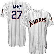 Majestic Men's San Diego Padres Matt Kemp #27 White Turn Back The Clock Authentic Flex Base Jersey