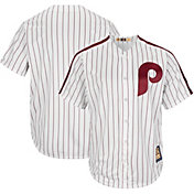 Majestic Men's Replica Philadelphia Phillies Cool Base White Cooperstown Jersey