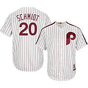 Majestic Men's Replica Philadelphia Phillies Mike Schmidt Cool Base White Cooperstown Jersey