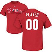 Majestic Men's Full Roster Philadelphia Phillies Red T-Shirt