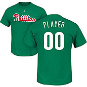 Majestic Men's Full Roster Philadelphia Phillies Green T-Shirt