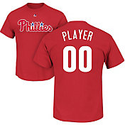 Majestic Men's Full Roster Philadelphia Phillies Red T-Shirt