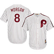 Majestic Men's Replica Philadelphia Phillies Joe Morgan Cool Base White Cooperstown Jersey