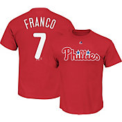 Majestic Men's Philadelphia Phillies Maikel Franco #7 Red T-Shirt
