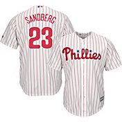 Majestic Men's Replica Philadelphia Phillies Ryne Sandberg #23 Cool Base Home White Jersey