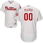 Majestic Men's Full Roster Authentic Philadelphia Phillies Flex Base Home White On-Field Jersey
