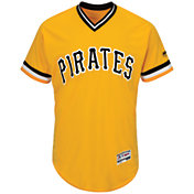 Majestic Men's Authentic Pittsburgh Pirates Andrew McCutchen #22 Alternate Gold Flex Base On-Field Jersey