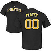Majestic Men's Full Roster Pittsburgh Pirates Black T-Shirt