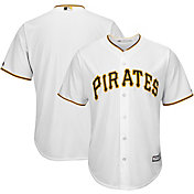 Majestic Men's Replica Pittsburgh Pirates Cool Base Home White Jersey