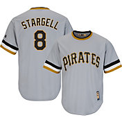 Majestic Men's Replica Pittsburgh Pirates Willie Stargell Cool Base Grey Cooperstown Jersey