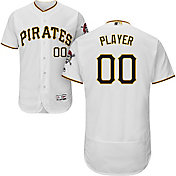 Majestic Men's Full Roster Authentic Pittsburgh Pirates Flex Base Home White On-Field Jersey