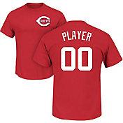 Majestic Men's Full Roster Cincinnati Reds Red T-Shirt
