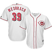 Majestic Men's Replica Cincinnati Reds Devin Mesoraco #39 Cool Base Home White Jersey
