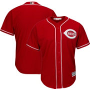 Majestic Men's Replica Cincinnati Reds Cool Base Alternate Red Jersey