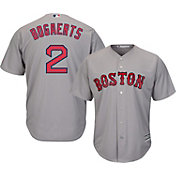 Majestic Men's Replica Boston Red Sox Xander Bogaerts #2 Cool Base Road Grey Jersey