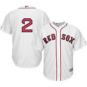 Majestic Men's Replica Boston Red Sox Xander Bogaerts #2 Cool Base Home White Jersey