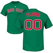 Majestic Men's Full Roster Boston Red Sox Green T-Shirt