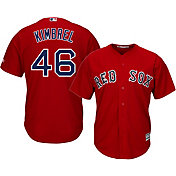 Majestic Men's Replica Boston Red Sox Craig Kimbrel #46 Cool Base Alternate Red Jersey