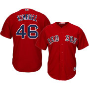 Majestic Men's Replica Boston Red Sox Craig Kimbrel #46 Cool Base Alternate Red Jersey