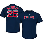 Majestic Men's Boston Red Sox Jackie Bradley Jr. #25 Navy T-Shirt