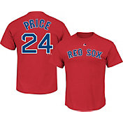 Majestic Men's Boston Red Sox David Price #24 Red T-Shirt