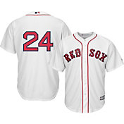 Majestic Men's Replica Boston Red Sox David Price #24 Cool Base Home White Jersey