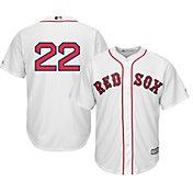 Majestic Men's Replica Boston Red Sox Rick Porcello #22 Cool Base Home White Jersey