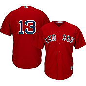 Majestic Men's Replica Boston Red Sox Hanley Ramirez #13 Cool Base Alternate Red Jersey