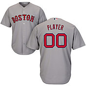 Majestic Men's Full Roster Cool Base Replica Boston Red Sox Road Grey Jersey