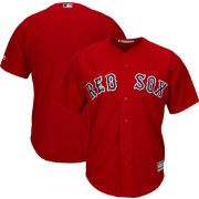Majestic Men's Replica Boston Red Sox Cool Base Alternate Red Jersey