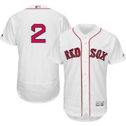 Majestic Men's Authentic Boston Red Sox Xander Bogaerts #2 Home White Flex Base On-Field Jersey