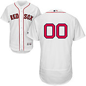 Majestic Men's Custom Authentic Boston Red Sox Flex Base Alternate Home White On-Field Jersey